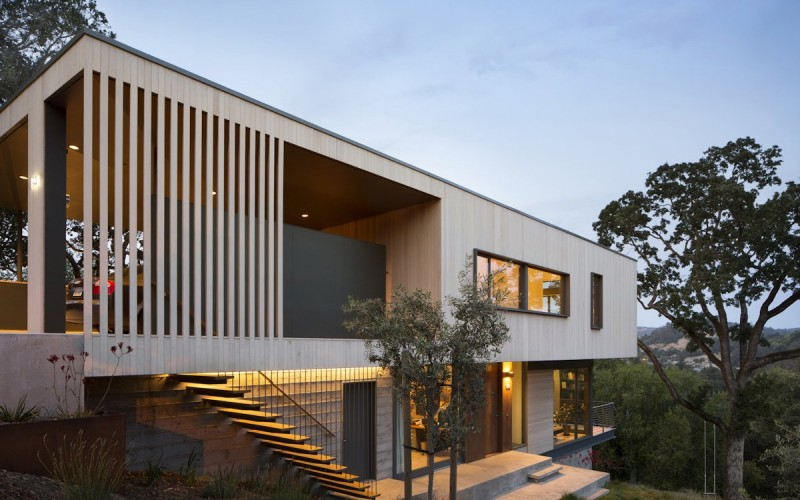 San Anselmo House by Shands Studio