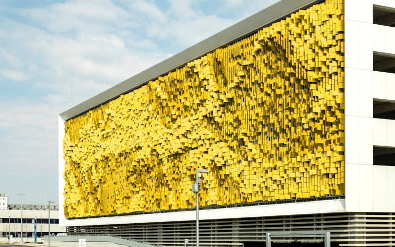 Rob Ley designs an interactive art facade
