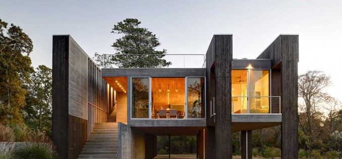 Northwest Harbor House by Bates Masi + Architects