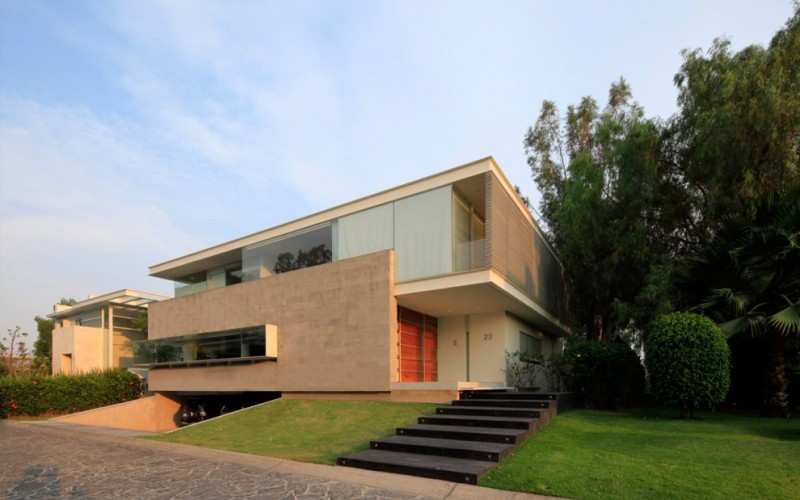 The Godoy House by Hernandez Silva Architects