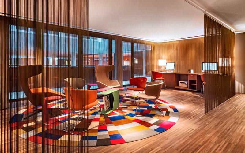 25hours Hotel Zürich West by Alfredo Häberli Design Development