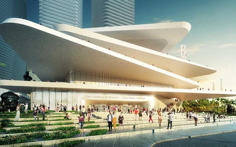 Дизайн  нового латиноамериканского искусства музея в Майами