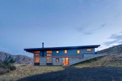 Двухэтажный дом на узкий участок