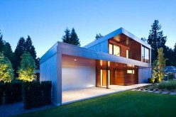 Architect Randy Bens has designed a contemporary family home in West Vancouver, Canada.