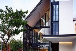 A Corner Terrace House For A Family In Singapore