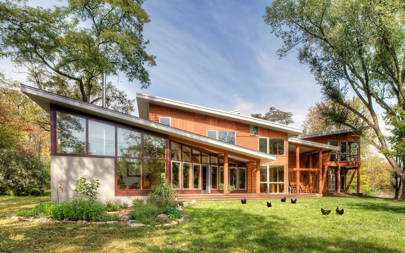 A Contemporary Renovation For A Virginia Farmhouse