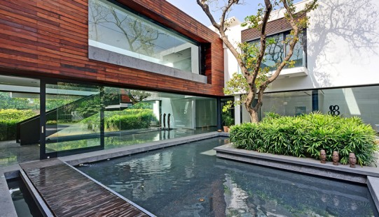 Three Trees House by DADA & Partners