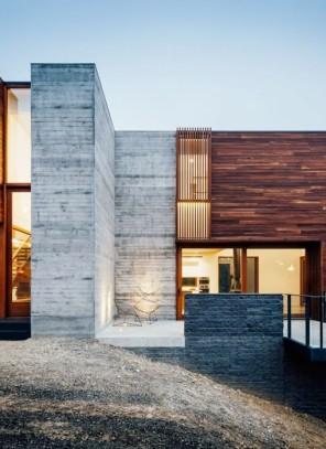Современный дом из блоков в Австралии