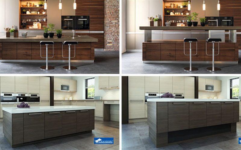 Kitchen Design Idea – Adjustable Height Kitchen Island