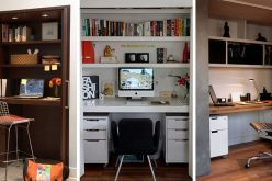 Small Apartment Design Idea – Create A Home Office In A Closet