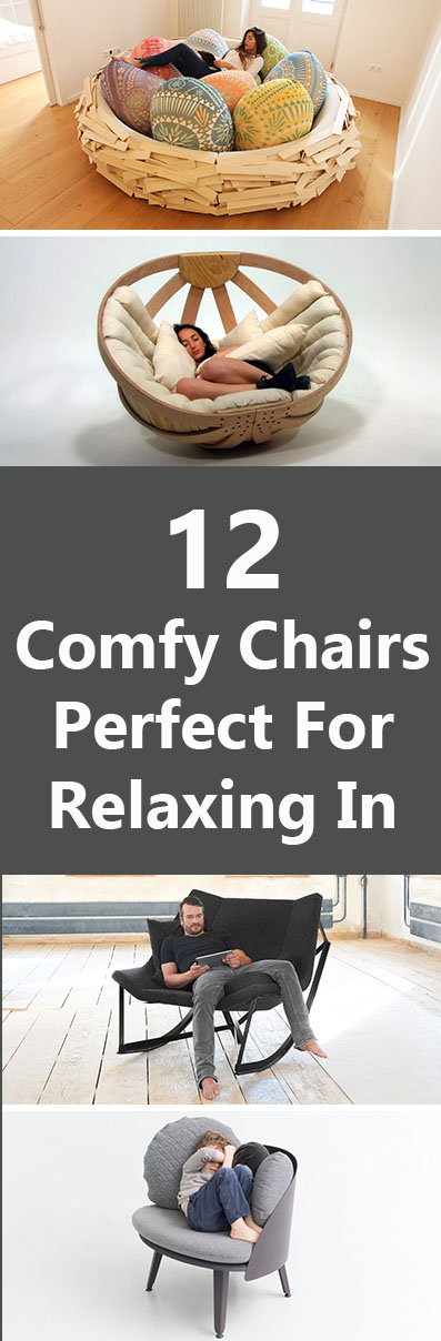 12 Comfy Chairs Perfect For Relaxing In