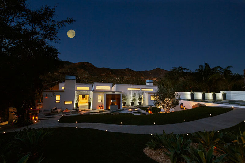 Originally built in 1977, this home in Montecito, California, has been given a contemporary update.