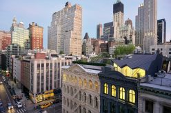 This old building in New York has been transformed into modern apartments