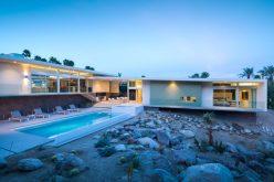 Этот Новый Дом Хранит Середины Века Современном Стиле Палм-Спрингс, Калифорния