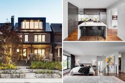 This century-old home in Toronto was given a contemporary makeover