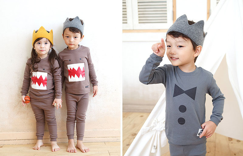 Gift Guide - 30+ Gift Ideas For The Modern Kid In Your Life // These soft knit crown ensure that your prince and princess are fit to rule to playroom.