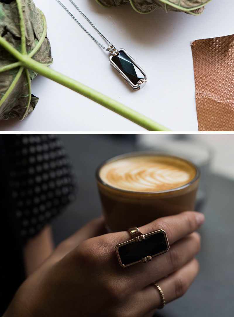 The Ultimate Gift Guide For The Modern Woman (40 Ideas!) // Smart jewelry can be programmed to vibrate when important notifications come in so she doesn't have to worry about missing a call from her mom or an email from her boss and lets her put away her phone and focus on what's going on in the moment.