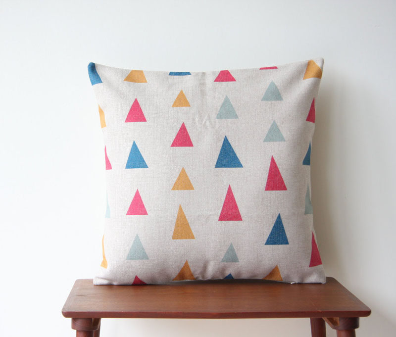 Home Decor Ideas - Liven Up Your Living Room With Some Colorful And Fun Throw Pillows (27 Designs!)