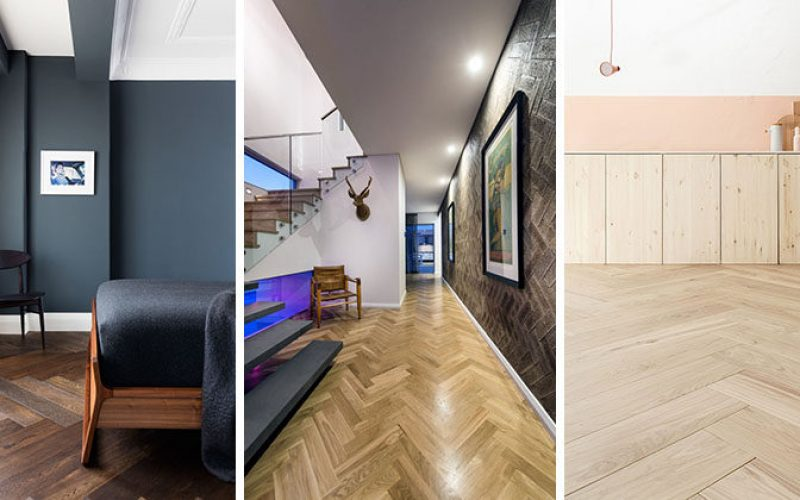 16 Inspirational Examples Of Herringbone Floors