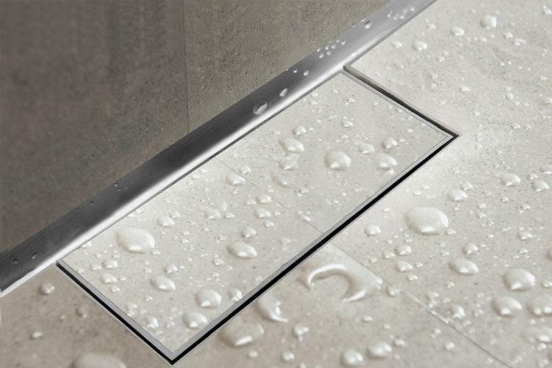 Bathroom Design Idea - Include A Linear Shower Drain