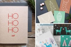 14 Примеры Современные Рождественские Открытки, Чтобы Держать Современный Отдых