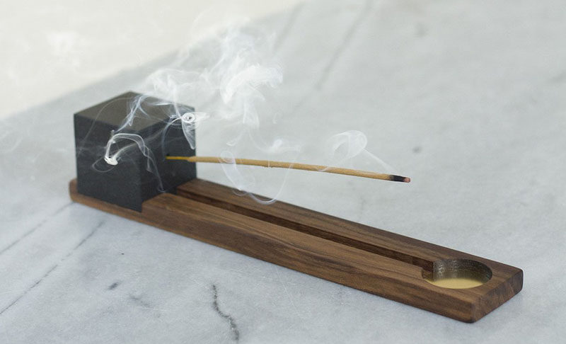Aromatherapy Ideas - 9 Ways To Make Your Home Smell Amazing // Burning incense is an easy way to quickly fill your house with rich aromas that linger for hours.