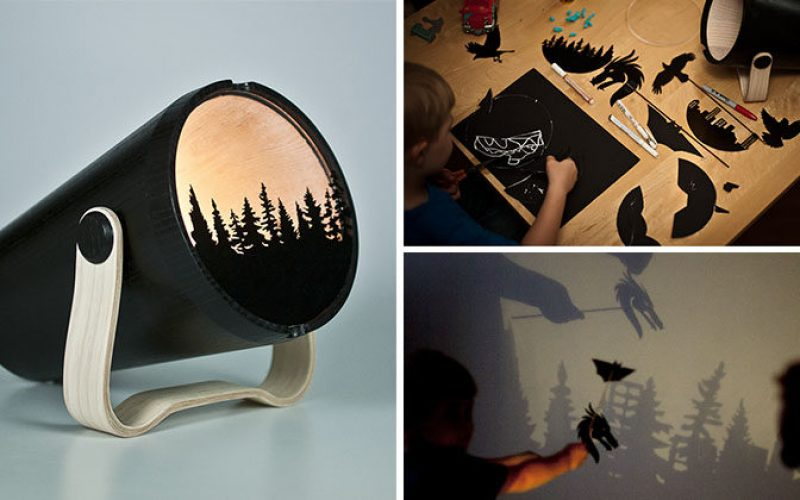 This Light Allows Kids To Create And Play With Shadows
