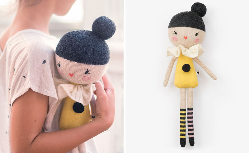 Gift Guide - 30+ Gift Ideas For The Modern Kid In Your Life // Modern Plush Toys