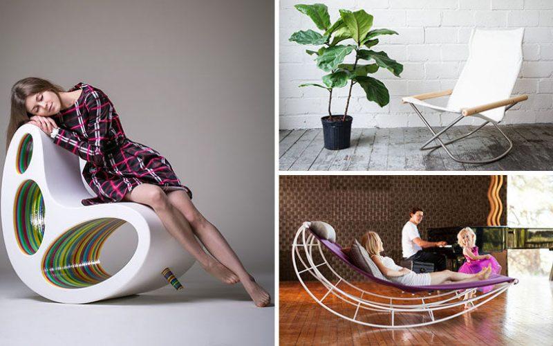 Идеи Мебели – 14 Удивительный Современный Качалка Конструкции Для Вашего Дома