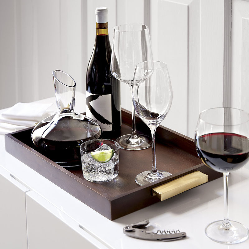 10 Unique Modern Wine Decanters // This simple decanter is just the right size for a small gathering of those who prefer their wine on the slightly more oxidized side.