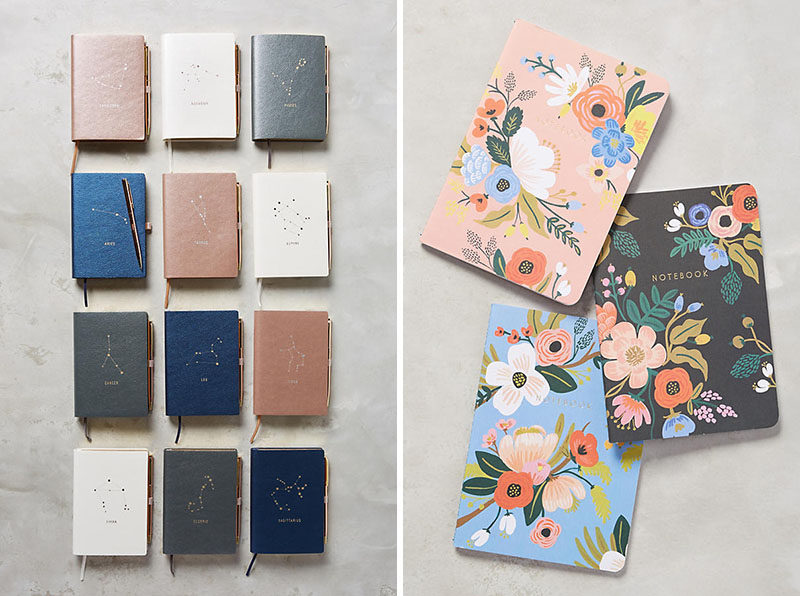 The Ultimate Gift Guide For The Modern Woman (40 Ideas!) // If a smart notebook just seems too much, a good old regular notebook is just as useful.