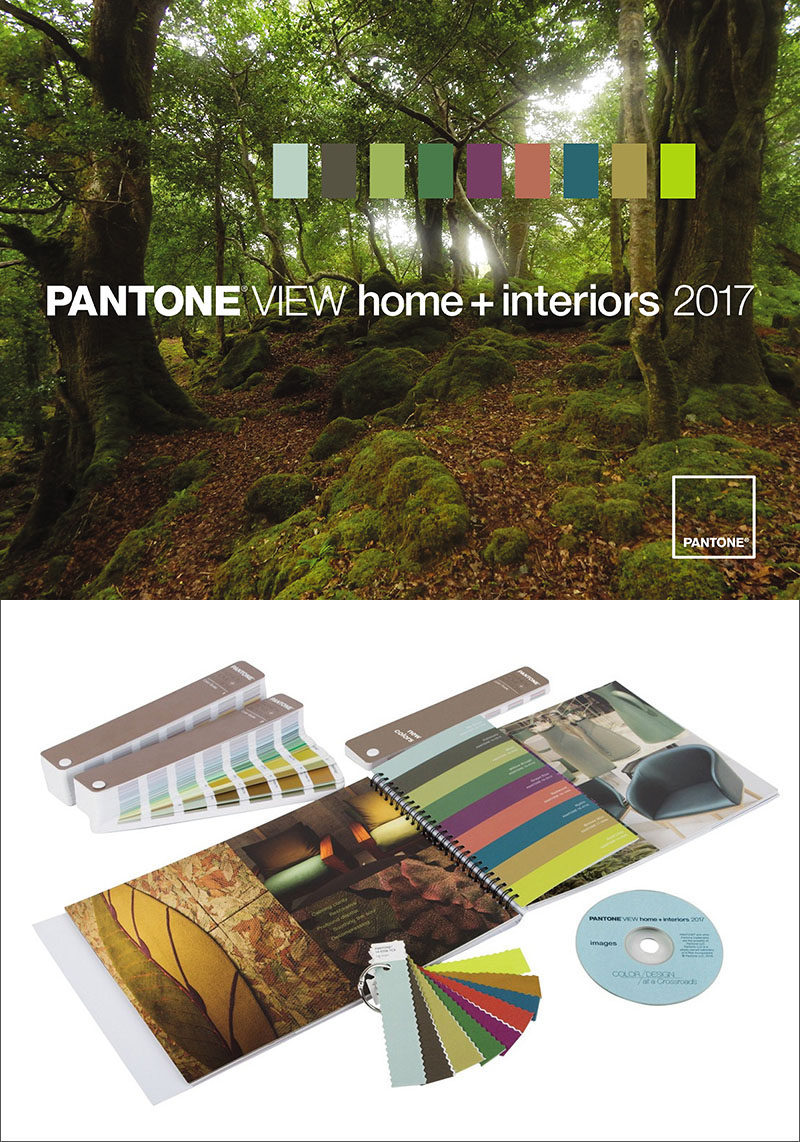 40 Awesome Gift Ideas For Architects And Interior Designers // Pantone color swatches