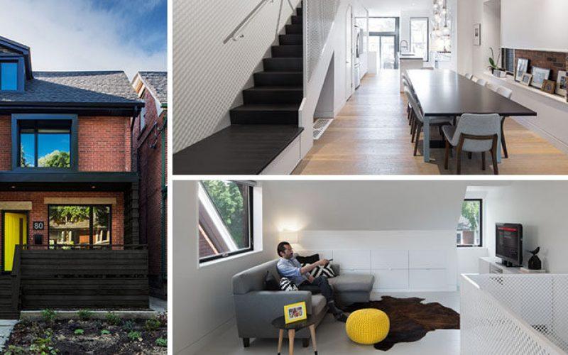 В этом двухквартирном доме в Торонто получил современный редизайн