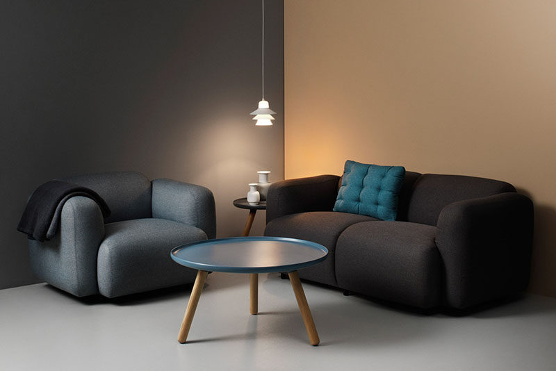Furniture Ideas - Round Coffee Tables Made From Metal