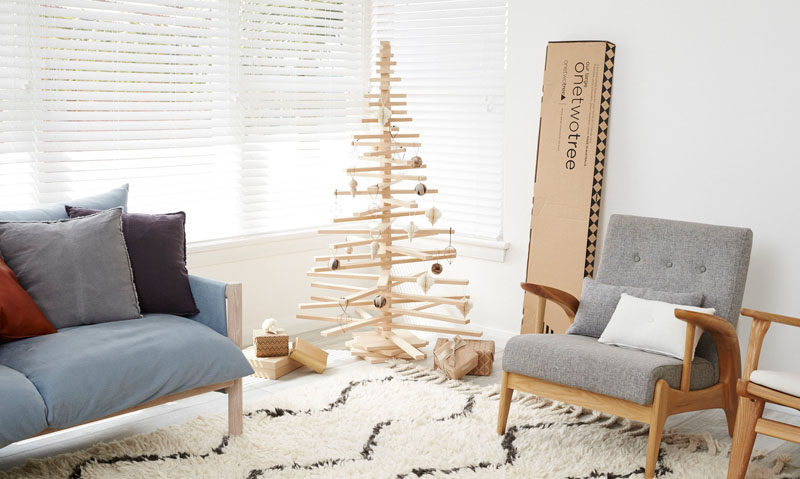 12 Modern Christmas Trees You Can Decorate With This Holiday Season