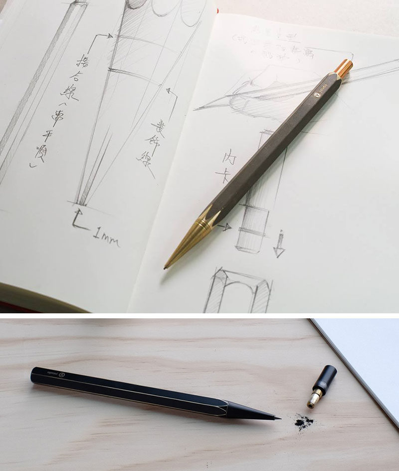 40 Awesome Gift Ideas For Architects And Interior Designers // Sketching Pencils