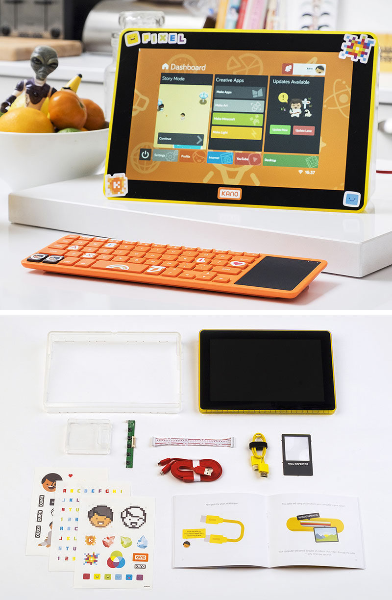 Gift Guide - 30+ Gift Ideas For The Modern Kid In Your Life // Tech Toys - Let your child build their own computer.