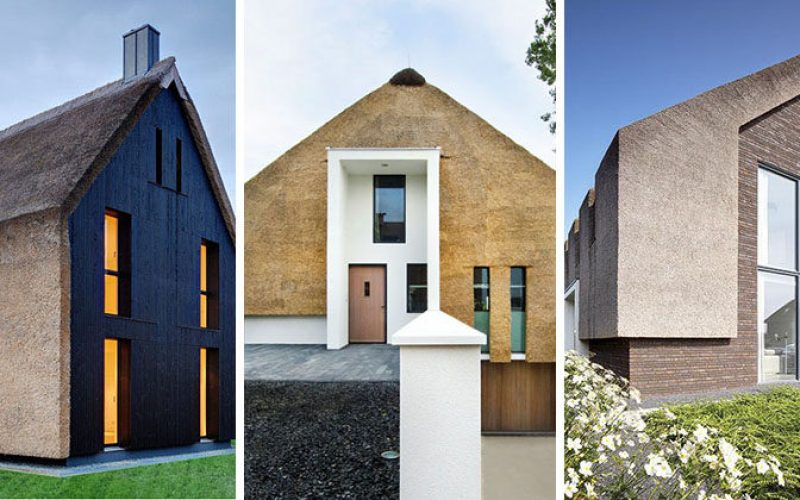 12 Examples Of Modern Houses And Buildings That Have A Thatched Roof