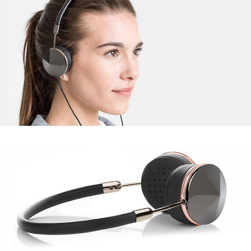 The Ultimate Gift Guide For The Modern Woman (40 Ideas!) // Lots of headphones are made quite large and can feel bulky on smaller heads. These ones are specially designed for people with smaller ears and let them rock super sleek over the ear headphones.