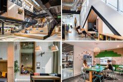 30 фотографий, просторный новый офис компании Airbnb в Дублине