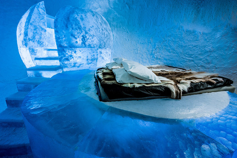 This year's ICEHOTEL in Sweden is open and we give you a quick look inside