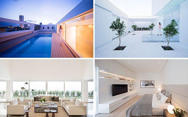 Этот дом был разработан, чтобы поддерживать сильное присутствие света