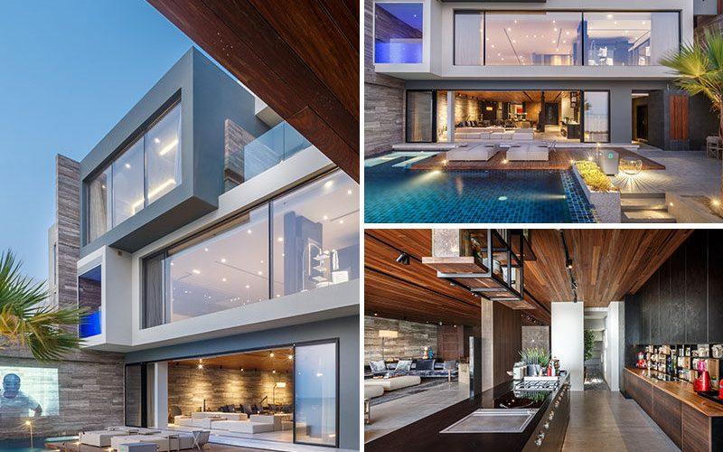 Дизайн Этого Современного Дома Отдавал Приоритет Видом На Море