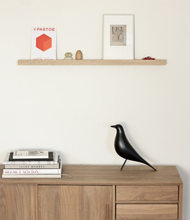 18 Decorative Animal Objects That Blur The Line Between Toys And Decor // This classic Eames House Bird became an iconic figure after it frequently appeared as an accessory in many photographs by Ray & Charles Eames.