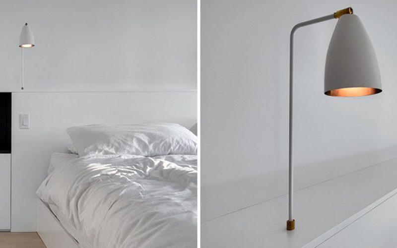Идея Спальни Изголовье – Интегрировать Светильники Прикроватного Столика В Изголовье