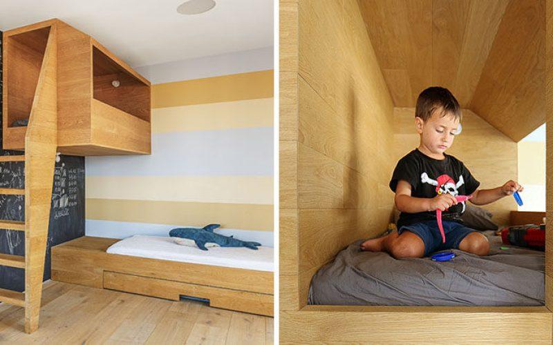 Эта Детская Спальня Имеет «Гнездо» Для Них, Чтобы Играть В