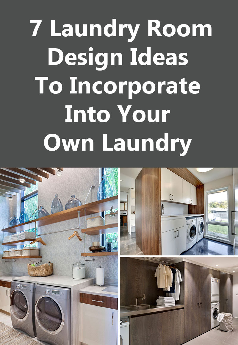 7 Laundry Room Design Ideas To Incorporate Into Your Own Laundry
