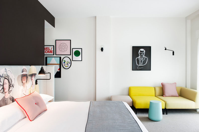 Hotel Room Design Ideas To Use In Your Own Bedroom // Include a lounge area in your bedroom for ultimate relaxation.