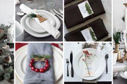 15 Вдохновляющих Идей Для Создания Современной Рождественский Стол Полностью Из Природных Элементов