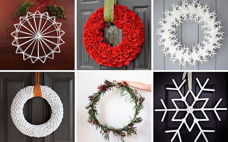 21 Современные Венки, Чтобы Украсить Ваш Дом В Этот Праздничный Сезон